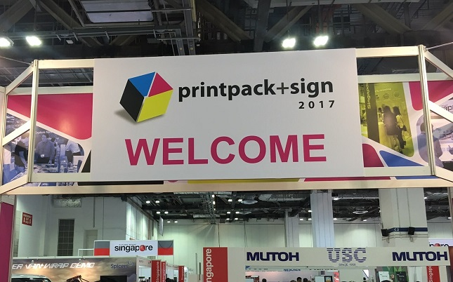 printpack+sign 2017展示会
